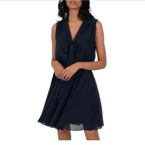 NWT Molly Bracken Midnight Blue Flowing Dress
